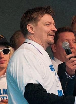 Jukka Jalonen - Jalonen in Helsinki in 2011