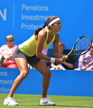 Julia Görges - Görges at the 2011 Aegon International