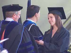 Julia Whelan at Middlebury College Commencemen...