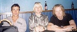 Spiritual Machines - Maida, Turner and Coutts during the original Spiritual Machines tour.