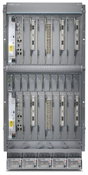Juniper Networks - Image: Juniper Networks PTX3000 packet transport router