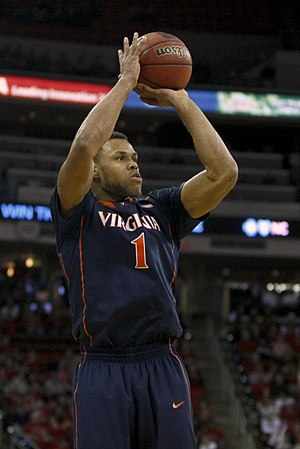 Justin Anderson (basketball) - Anderson with Virginia in 2014