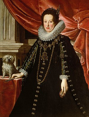 Anna de' Medici, Archduchess of Austria - Anna in circa 1630 by Medici court painter Justus Sustermans