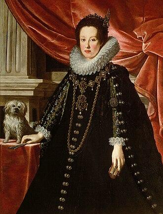 Ferdinand Charles, Archduke of Austria - Image: Justus Sustermans Anna de' Medici, wife of archduke Ferdinand Charles of Austria