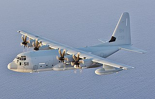 Lockheed Martin KC-130 Aerial refueling tanker based on Lockheed Martin C-130