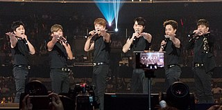 Shinhwa South Korean boy band