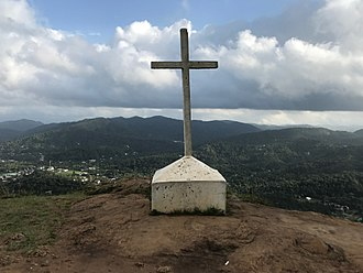 Christian cross - A cross in Kerala