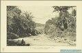 KITLV - 37338 - Demmeni, J. - Tulp, De - Haarlem - The Tji Mandiri river with the Baros bridge in the background - 1911.tif