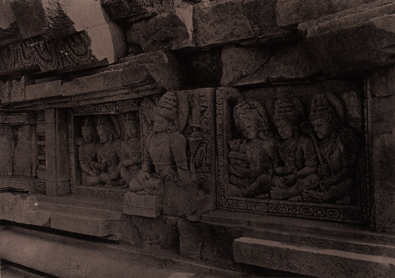 File kitlv 155188 kassian c phas reliefs on the for Terrace yogyakarta
