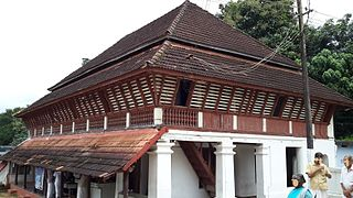 Architecture of Kerala kind of architectural style that originated and is mostly found in the Indian state of Kerala