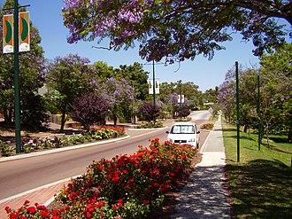 Kalamunda, Western Australia - Kalamunda Road, Kalamunda