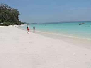 Havelock Island - Image: Kalapathar beach Havelock Island, Andaman, India