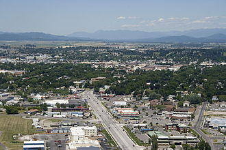 Michelle Williams (actress) - The city of Kalispell, Montana, where Williams was born