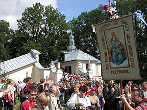 Przemyśl County - Image: Kalwariaodpust