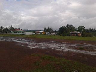 Kamarang Village in Cuyuni-Mazaruni, Guyana