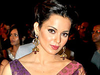 Kangana at Max Stardust Awards 2010.jpg