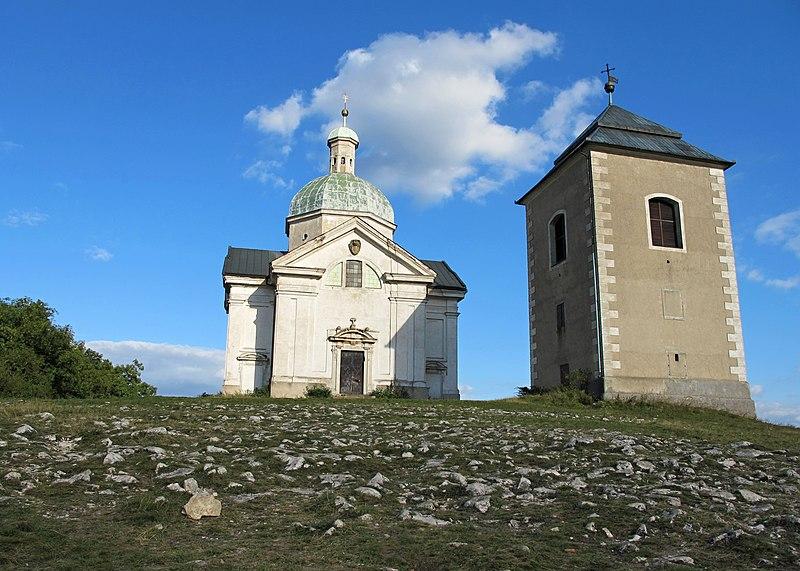 Soubor:Kaple sv Šebestiána Svatý kopeček.jpg