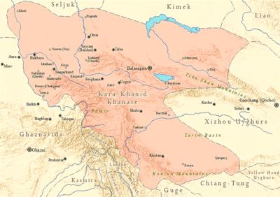 Kara-Khanid Khanate - Wikipedia