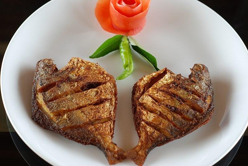 Karimeen Fish fry in Kerala