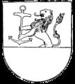 Karlshamns vapen, Nordisk familjebok.png