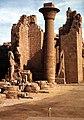 Karnak-18-die 'Einzige' Saeule-1982-gje.jpg