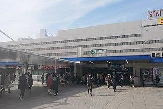 Kashiwa Station Railway station in Kashiwa, Chiba Prefecture, Japan