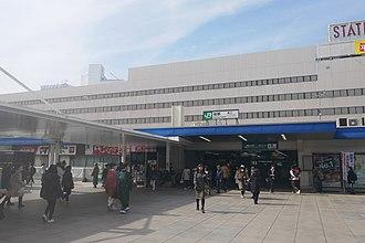 Kashiwa Station - The JR East station February 2019