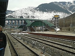 Banihal railway station is a major station on کشمیر ریلوے.