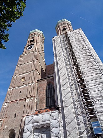 Munich Frauenkirche - 2015 renewal