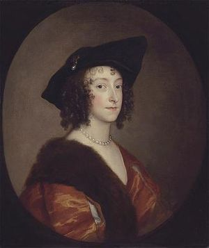 Katherine Stanhope, Countess of Chesterfield - Katherine, Lady Stanhope by Anthony van Dyck