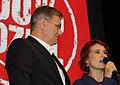 Katja Kipping Bernd Riexinger Die Linke Wahlparty 2013 (DerHexer) 02.jpg