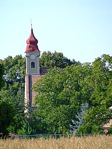 Katolicky kostol Horne Zelenice - The Catholics church - panoramio.jpg