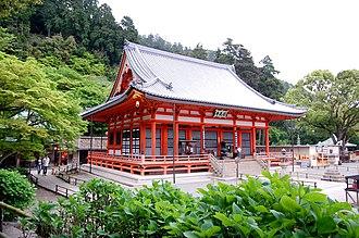 Minoh, Osaka - View of Katsuo Temple in Minoh