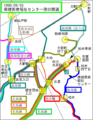 Keisei bus line around ichikawaoono 10.png