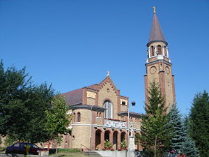 Kelebija - The Catholic church in Kelebija