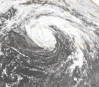 1984 Pacific typhoon season - Image: Kelly 1984091700GMS2VS