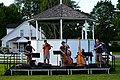 Kenji Bunch and His Bluegrass All-Stars practice Craftsbury Common VT July 2012.jpg