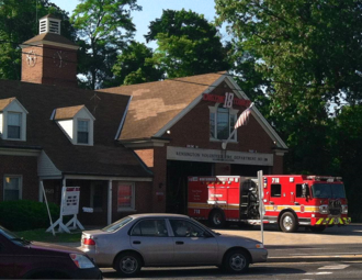 Glenmont, Maryland - The Kensington fire station in May 2013.