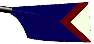 University rowing (UK) - Image: Kent University Rowing Blade