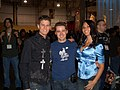 Kevin Pereira and Olivia Munn at AVN Adult Entertainment Expo 2007.jpg