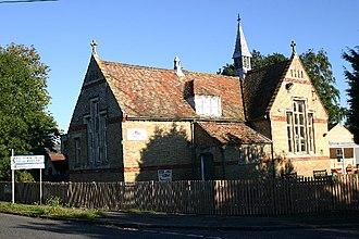 Civil parishes in Bedfordshire - Image: Keysoe Row school geograph.org.uk 67217