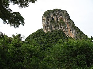 Phatthalung Province - Ok Talu Mountain, symbol of Phatthalung