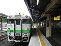 Kiha40 1736 at Abashiri Station.jpg
