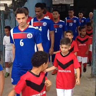 Kilian Elkinson - Kilian Elkinson playing against Cuba