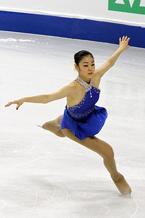 Figure skating jumps - Landing