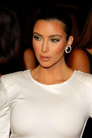 Kim Kardashian attending Maxim's 10th Annual H...