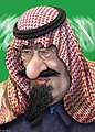King Abdullah - Caricature (5769836635).jpg