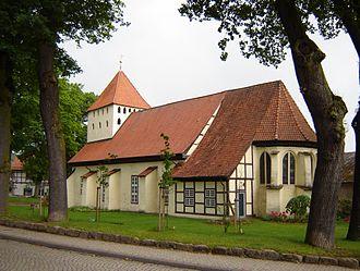 Hankensbüttel - Image: Kirche Hankensbüttel