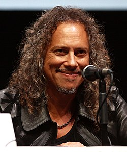Hammett speaking at the 2013 San Diego Comic-Con, held in San Diego, California.