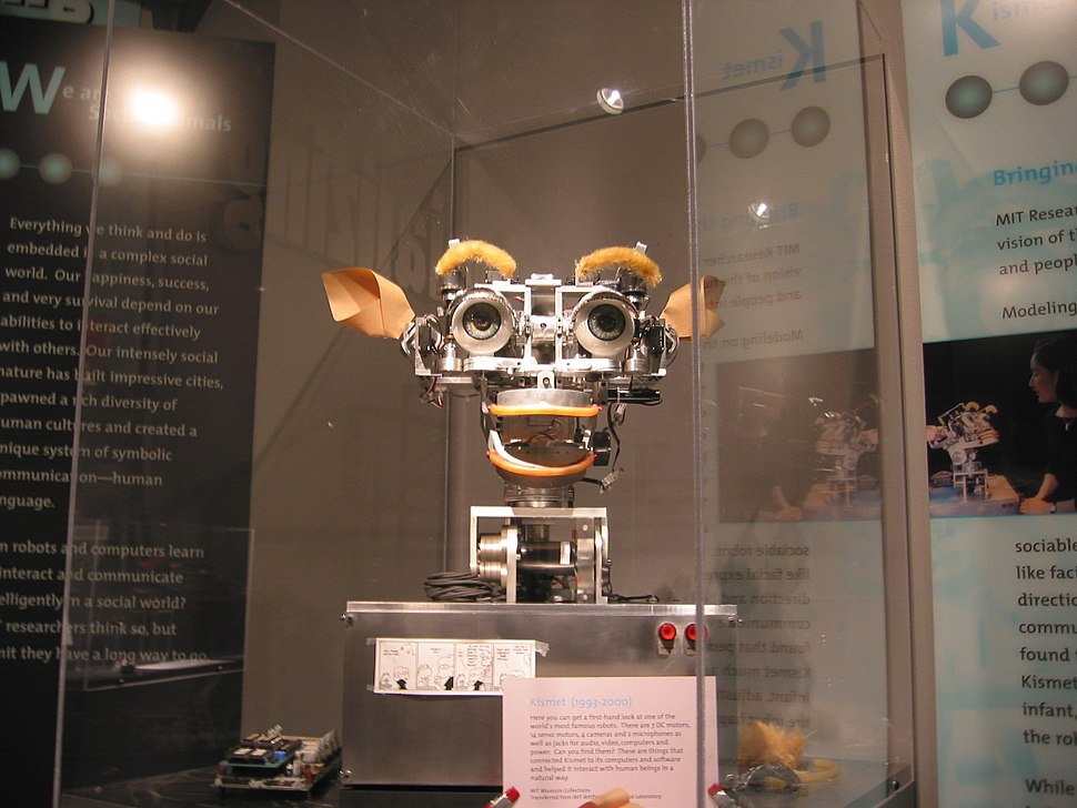 Kismet robot at MIT Museum